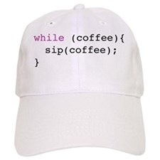 coffee loop Baseball Cap