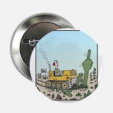 "Cactus giving the Finger 2.25"" Button"