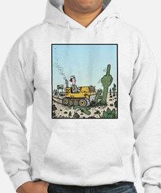 Cactus giving the Finger Hoodie
