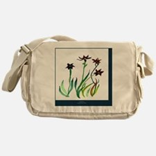 Spring Flowers Messenger Bag
