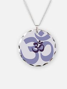 om aum chant symbol Necklace
