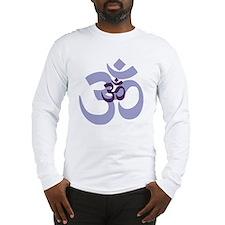 om aum chant symbol Long Sleeve T-Shirt