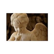 Angel Silence Rectangle Magnet