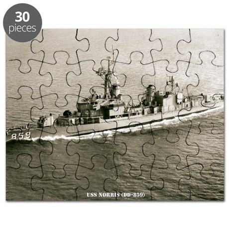norris dd framed panel print Puzzle