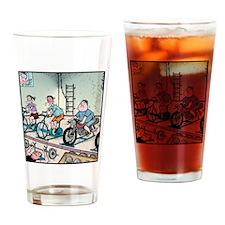 Exercise Motorbike Drinking Glass