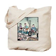 Exercise Motorbike Tote Bag