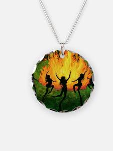 Fire Dance Necklace