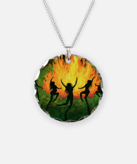 Fire Dance Necklace