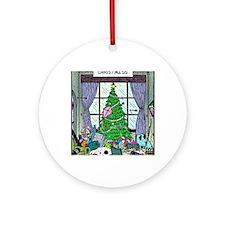 Christmess Round Ornament
