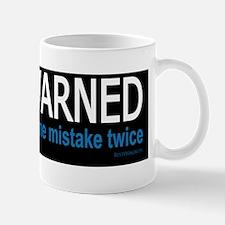 Forewarned bmpr stkr Mug