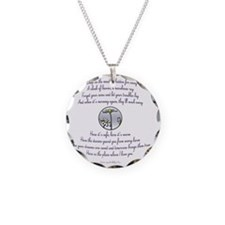 Katniss sings to Rue sq Necklace