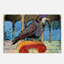 DuvetKingWellRaven Postcards (Package of 8)
