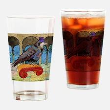 DuvetKingWellRaven Drinking Glass