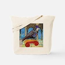 duvetTwinWellRaven Tote Bag