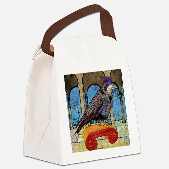 duvetTwinWellRaven Canvas Lunch Bag