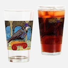 duvetTwinWellRaven Drinking Glass