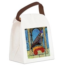 mensWalletWellRaven Canvas Lunch Bag