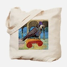 showerCurtainWellRaven Tote Bag