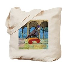 squareWellRaven Tote Bag