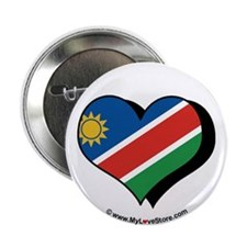 "I Love Namibia 2.25"" Button (100 pack)"