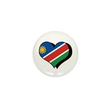 I Love Namibia Mini Button (100 pack)