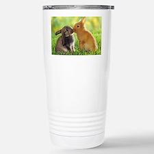 Love Bunnies Stainless Steel Travel Mug