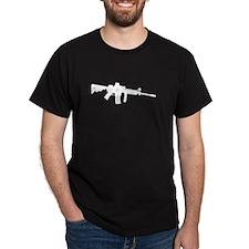 AR Rifle Black T-Shirt