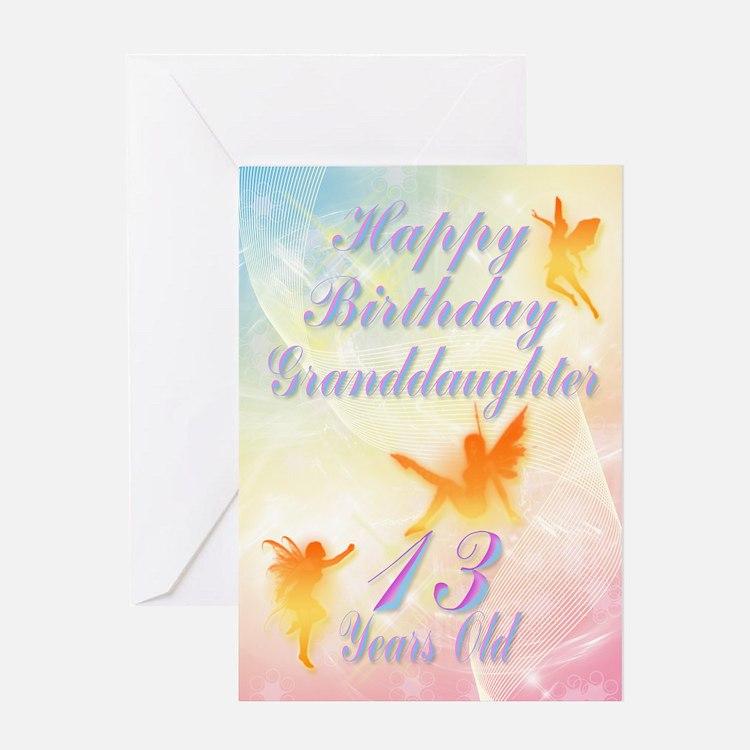 Flower fairy birthday card for granddaughter age 1