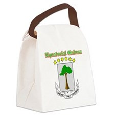 equatorial guinea-done Canvas Lunch Bag