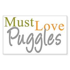 mustlovepuggles_black Decal