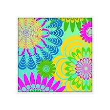 "70s-rhapsody-IPAD-SLEEVE Square Sticker 3"" x 3"""