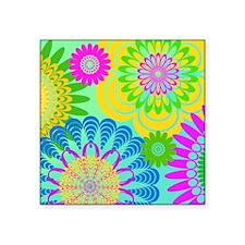 "70s-rhapsody-THROW-PILLOW Square Sticker 3"" x 3"""