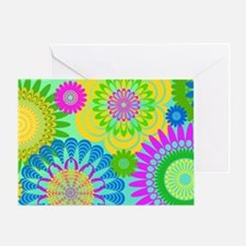 70s-rhapsody-toiletry-bag Greeting Card