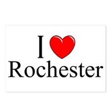 """""""I Love Rochester"""" Postcards (Package of 8)"""