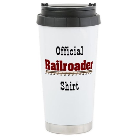 Official Railroader Shirt Stainless Steel Travel M