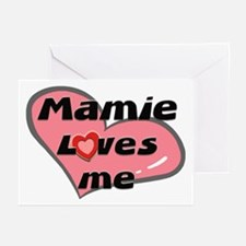 mamie loves me  Greeting Cards (Pk of 10)