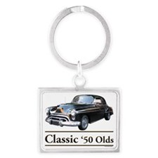 50 Olds Landscape Keychain