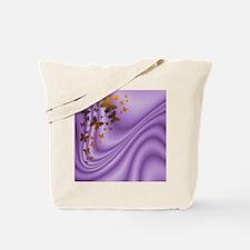 Purple - Brown Butterflies Tote Bag