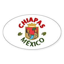Chiapas Oval Decal