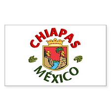 Chiapas Rectangle Decal