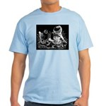 Etched Pigeon Trio Light T-Shirt