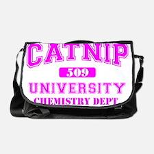 Property of Catnip University Chemis Messenger Bag