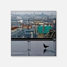 """Rooftops of Paris from the  Square Sticker 3"""" x 3"""""""