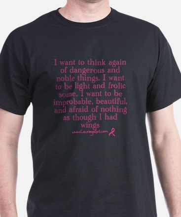 As Though I Had Wings T-Shirt