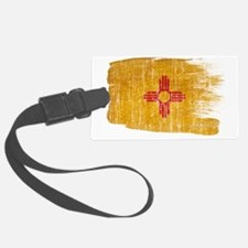 New Mexicotex3-paint style aged  Luggage Tag