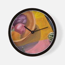 Warm Harvest Wall Clock