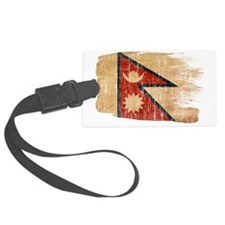 nepal painttex3-paint aged copy Luggage Tag