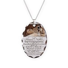 Advertising Card Necklace