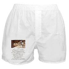 Advertising Card Boxer Shorts