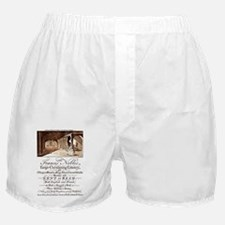 Advertising Card Boxer Shorts